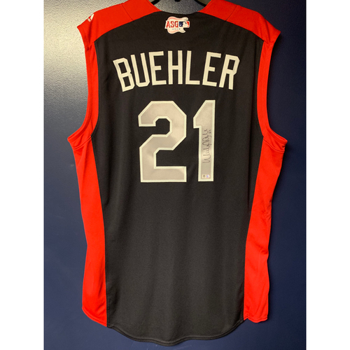 Photo of Walker Buehler 2019 Major League Baseball Workout Day Autographed Jersey