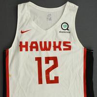 De'Andre Hunter - Atlanta Hawks - 2019 NBA Summer League - Game-Worn Jersey