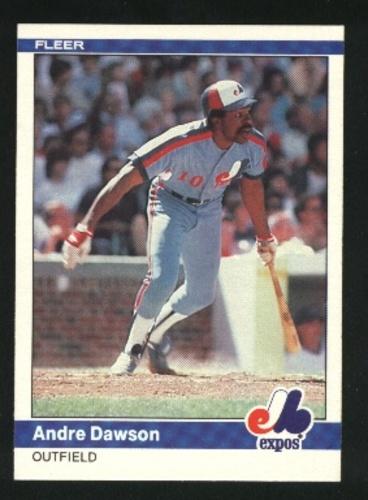 Photo of 1984 Fleer #273 Andre Dawson