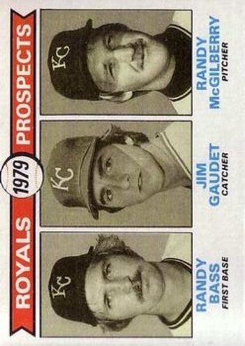Photo of 1979 Topps #707 Randy Bass RC/Jim Gaudet RC/Randy McGilberry RC