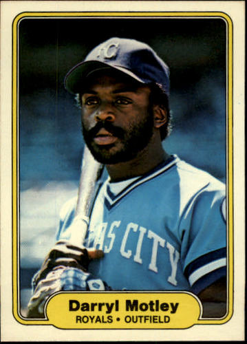 Photo of 1982 Fleer #417 Darryl Motley
