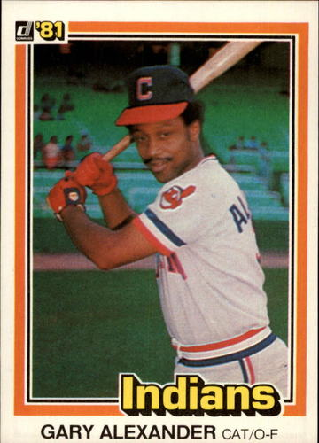 Photo of 1981 Donruss #200 Gary Alexander