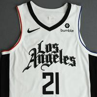 Patrick Beverley - Los Angeles Clippers - Game-Worn 2nd Half City Edition Jersey - 2019-20 Season