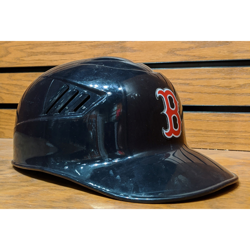 Photo of Boston Red Sox Team Issued Batting Helmet