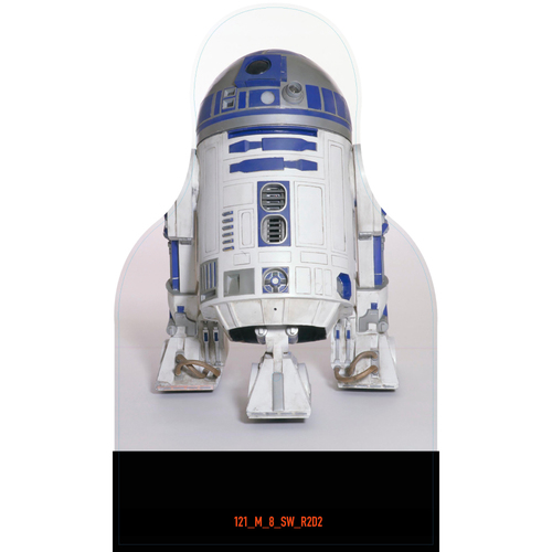 Photo of Giants Community Fund: Giants R2D2 Cutout