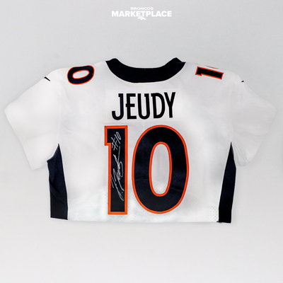 Photo of Jerry Jeudy Autographed Authentic Jersey