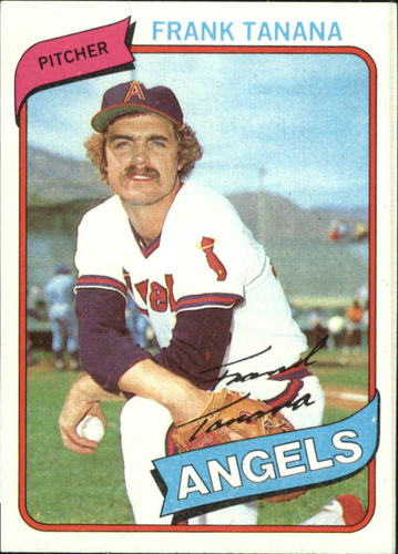 Photo of 1980 Topps #105 Frank Tanana