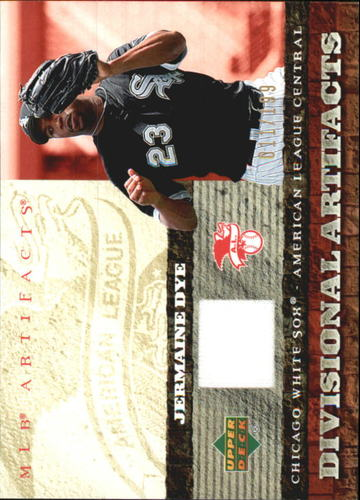 Photo of 2007 Artifacts Divisional Artifacts #JD Jermaine Dye