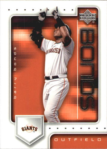 Photo of 2003 Upper Deck Post #25 Barry Bonds