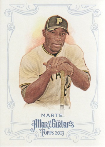 Photo of 2013 Topps Allen and Ginter #48 Starling Marte