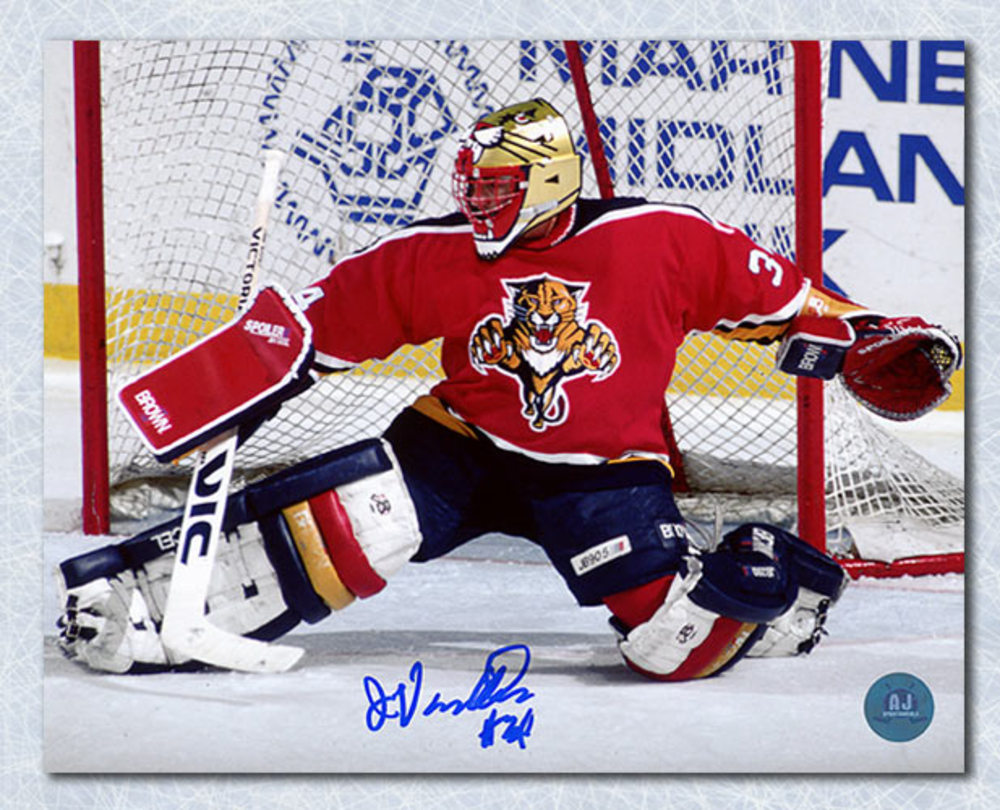 John Vanbiesbrouck Florida Panthers Autographed 8x10 Photo
