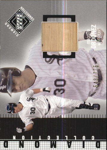 Photo of 2002 Upper Deck Diamond Connection #429 Magglio Ordonez DC Bat