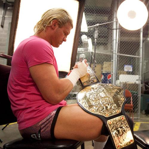 Dolph Ziggler SIGNED WWE Heavyweight Championship Replica Belt