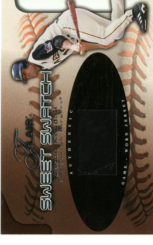 Photo of 2002 Flair Sweet Swatch #9 Jason Kendall/990
