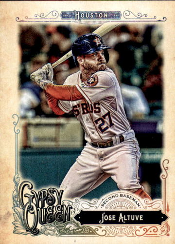 Photo of 2017 Topps Gypsy Queen #298 Jose Altuve