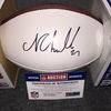 NFL - Browns Nick Chubb signed panel ball