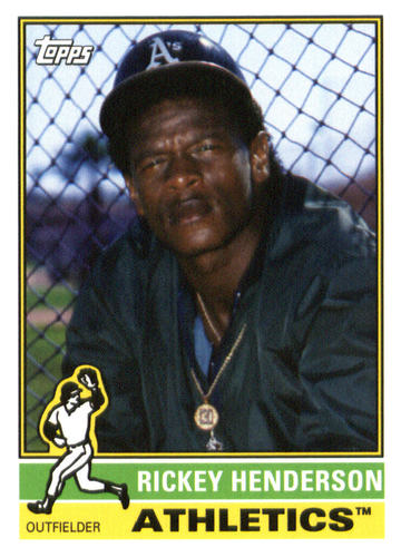 Photo of 2015 Topps Archives #177 Rickey Henderson