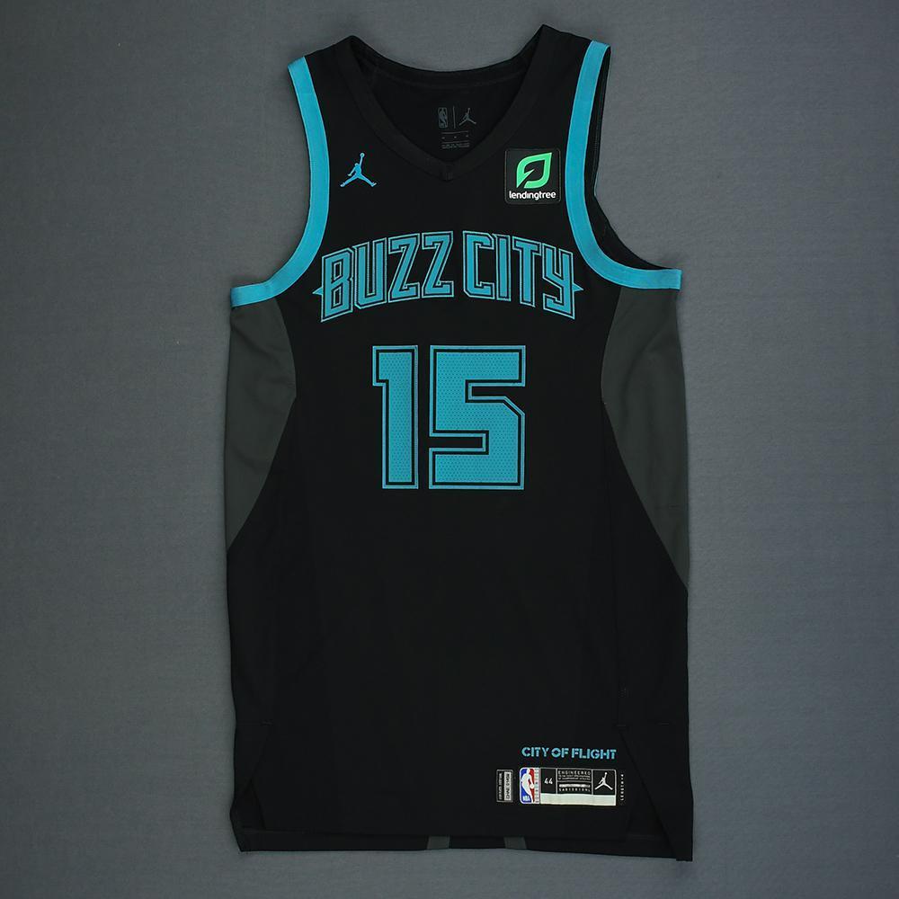 Kemba Walker - Charlotte Hornets - Game-Worn City Edition Jersey ...