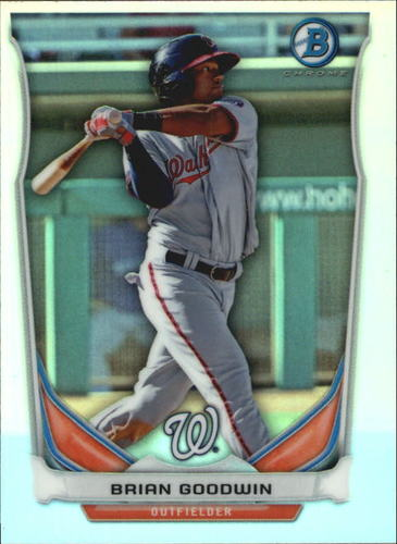 Photo of 2014 Bowman Chrome Bowman Scout Top 5 Mini Refractors #BMWN3 Brian Goodwin