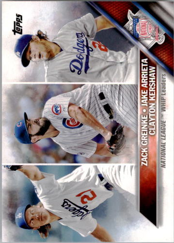 Photo of 2016 Topps #125 Zack Greinke/Clayton Kershaw/Jake Arrieta LL