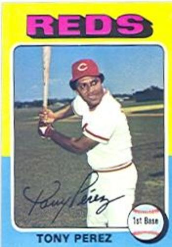 Photo of 1975 Topps #560 Tony Perez