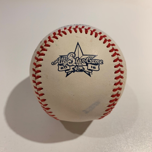 Photo of 2016 Texas League All-Star Game Home Run Derby - Game Used Baseball - Batter: Luke Voit -  Round 1 HR