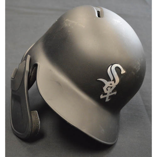"Photo of Yolmer ""Noah Alan"" Sanchez Chicago White Sox Game-Used 2019 Players' Weekend Helmet"