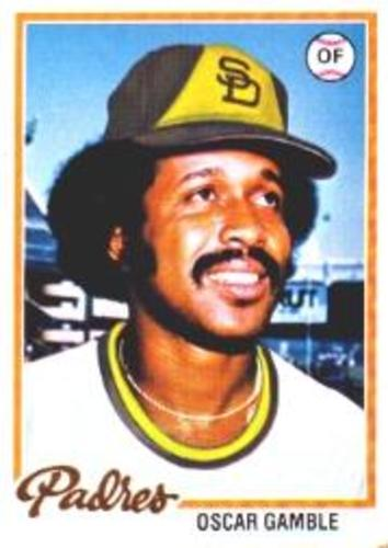 Photo of 1978 Topps #390 Oscar Gamble