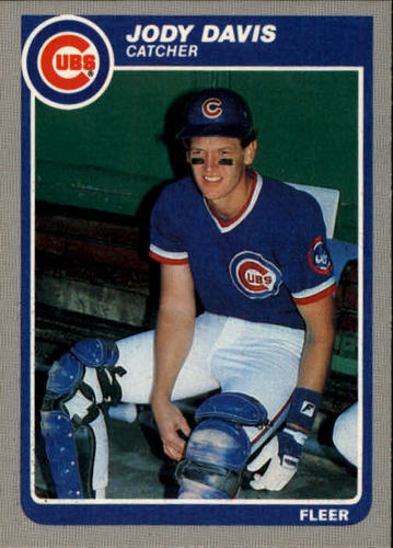Photo of 1985 Fleer #54 Jody Davis