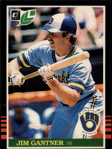 Photo of 1985 Leaf/Donruss #217 Jim Gantner