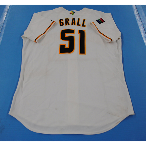 Photo of 2006 Inaugural World Baseball Classic: Greg Grall Game-worn Team South Africa Home Jersey