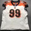 Crucial Catch - Bengals Andrew Billings Game Used Jersey (10/13/19) Size 48