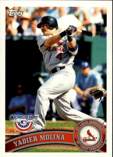 Photo of 2011 Topps Opening Day #46 Yadier Molina