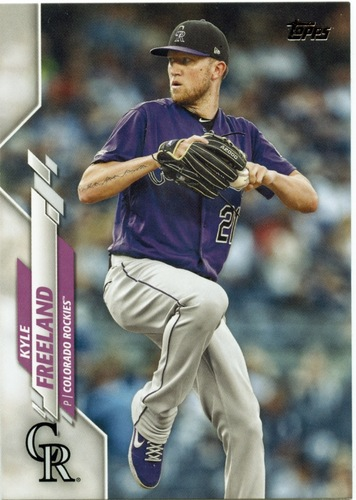 Photo of 2020 Topps #666 Kyle Freeland