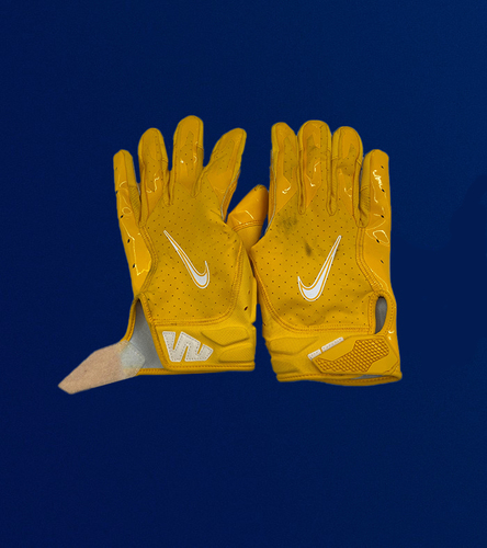 Photo of Kenny Young Game Used Gloves - (1/3/2021 VS. Arizona Cardinals)