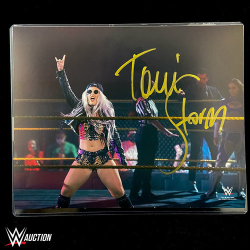 Photo of Toni Storm SIGNED 8x10 Photo Yellow Signature (Random Number)