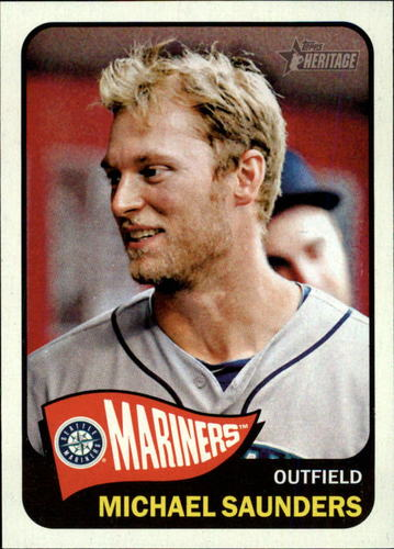 Photo of 2014 Topps Heritage #142 Michael Saunders