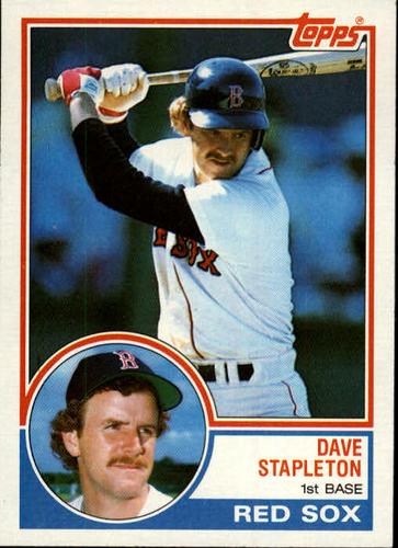 Photo of 1983 Topps #239 Dave Stapleton