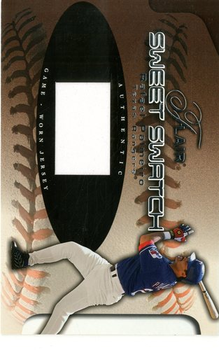 Photo of 2002 Flair Sweet Swatch #13 Rafael Palmeiro/535