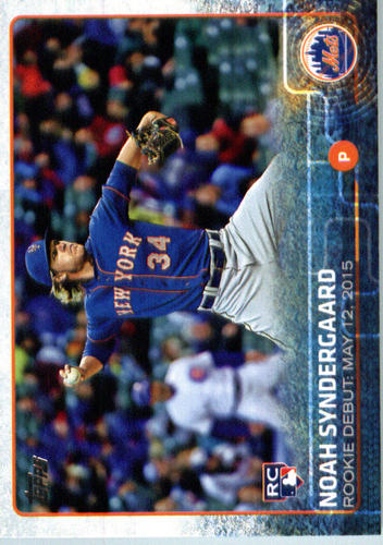 Photo of 2015 Topps Update #US234 Noah Syndergaard Rookie Card