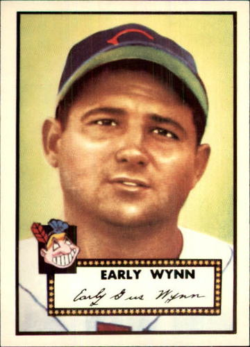 Photo of 1983 Topps 1952 Reprint #277 Early Wynn