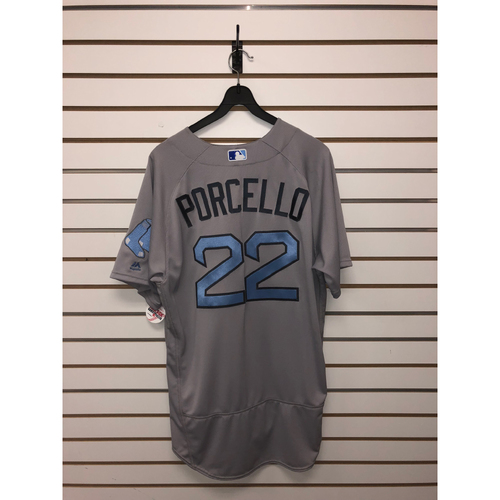 Rick Porcello Team-Issued 2017 Father's Day Road Jersey