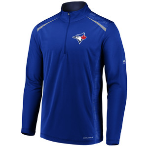 Toronto Blue Jays Practice Makes Perfect 1/4 Zip by Majestic