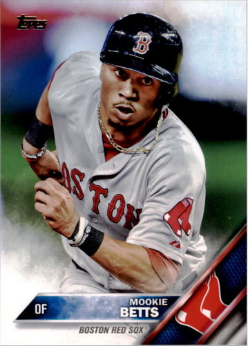 Photo of 2016 Topps #84A Mookie Betts