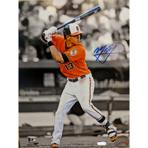 "Photo of Manny Machado Autographed 8"" x 10"" Photo"
