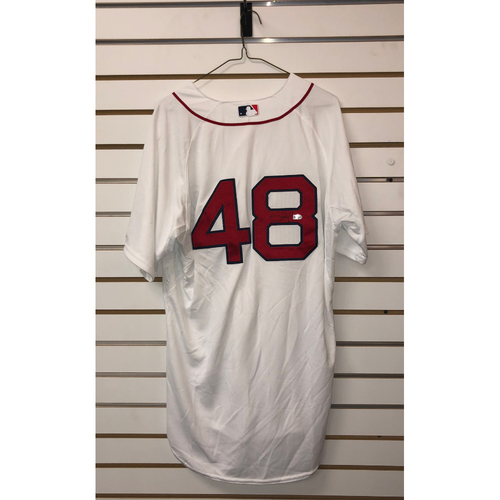 Photo of Pablo Sandoval Autographed Authenticate Home Jersey