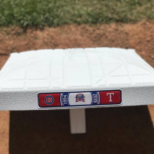 Photo of 2019 Texas Rangers Game-Used Base (August) - PRESALE: Choose your Game Date!