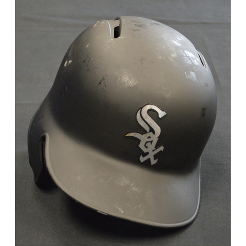 "Photo of Matt ""Baba"" Skole Chicago White Sox Game-Used 2019 Players' Weekend Helmet"