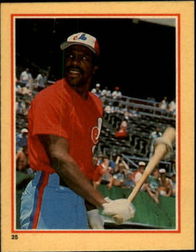 Photo of 1984 Fleer Stickers #25 Andre Dawson