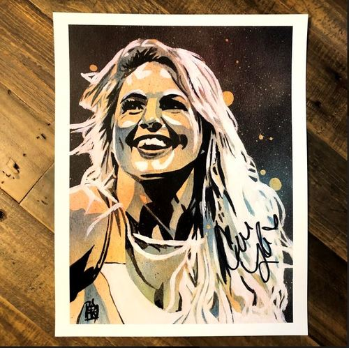 Photo of Candice Lerae SIGNED 11 x 14 Rob Schamberger Print